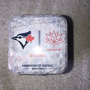 COPY - NIB MLB Canada 150 Commemorative Baseball